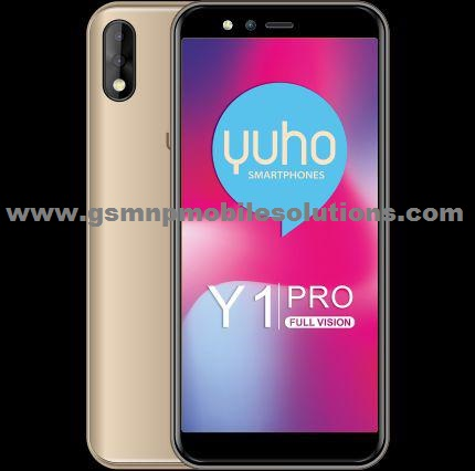 YUHO Y1 PRO V1 0 Official Firmware Stock Rom/Flash File