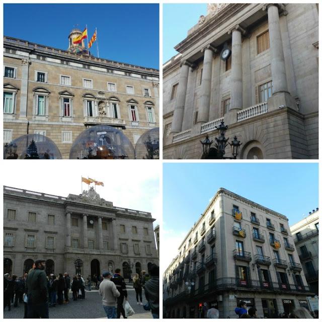 Praças para curtir Barcelona - Plaça de Sant Jaume