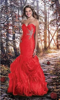 modelo de vestido sereia vermelho - looks, dicas e fotos