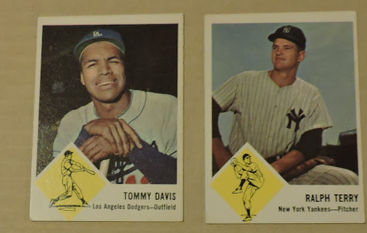 Ebay Pickup - Some 1963 Fleer