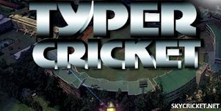 Play online Typer Cricket game
