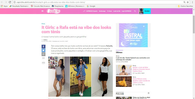 IT GIRLS DA CAPRICHO