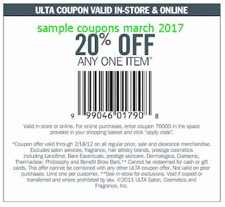 free Ulta coupons for march 2017