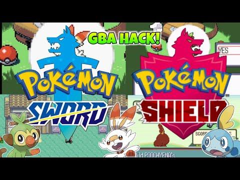 Pokémon GBA Rom Hack Pokémon Sword And Shield