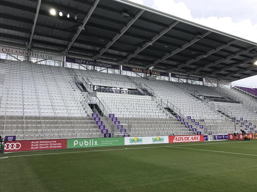 orlando city nuovo stadio standing tribuna