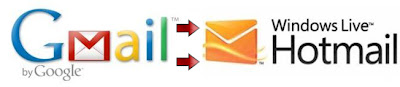 gmail to hotmail