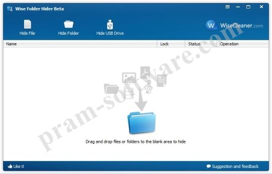 ScreenShot Wise Folder Hider