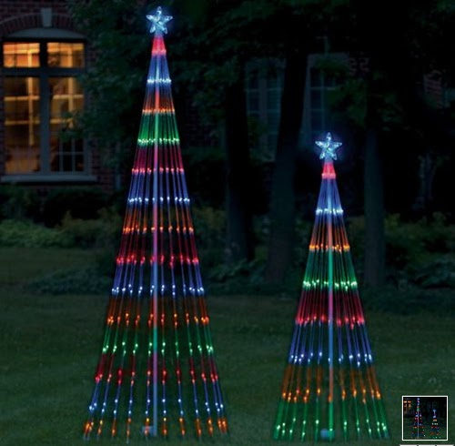 Light Show Outdoor Christmas Tree Christmas Speace