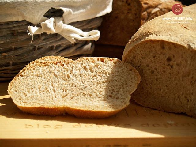 Biały chleb na zakwasie pszennym