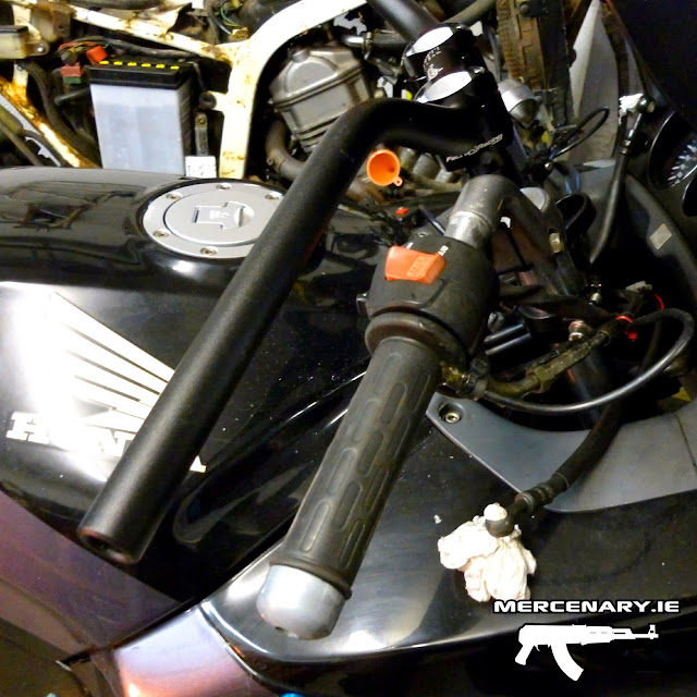 CBR1000F Handlebar Conversion