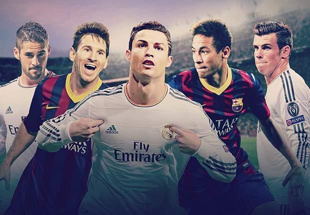 El Clasico, Barcelona vs Real Madrid
