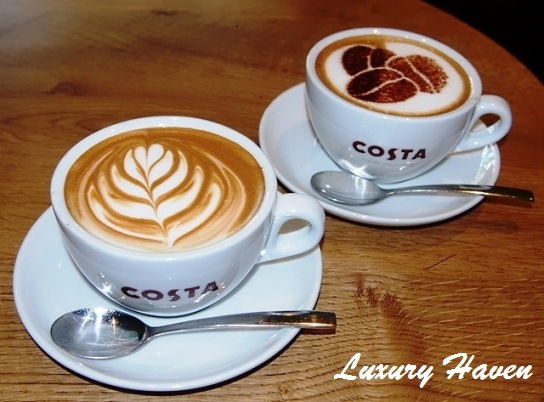 singapore costa coffee raffles city