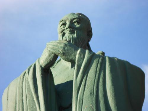 Estátua de Confúcio em Montevidéu, Uruguai