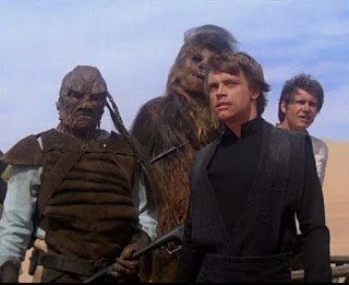 screen shot from Return of the Jedi (1983). Property of Lucasfilm/Disney (?)
