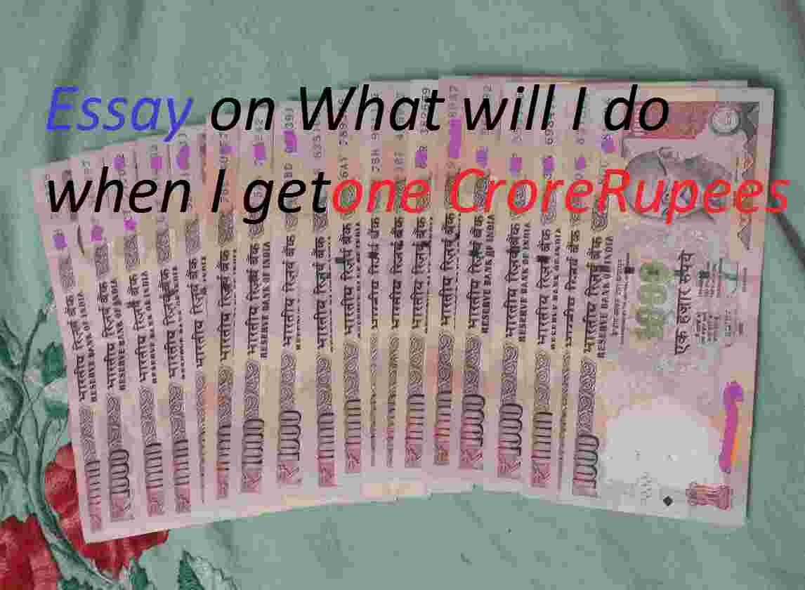 words essay what i will do when i get crore rupee creative  428 words essay what i will do when i get 1 crore rupee