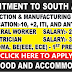 RECRUITMENT TO CONSTRUCTION AND MANUFACTURING INDUSTRY IN SOUTH AFRICA
