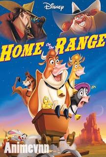 Điệp Vụ Cứu Bò - Home On The Range 2012 Poster