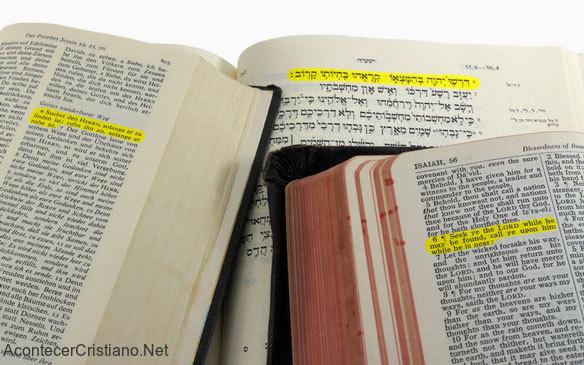 Traducción de la Biblia a todos los idiomas del mundo