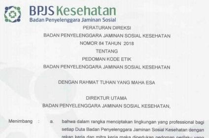 Download Pedoman Kode Etik BPJS Kesehatan Format Pdf