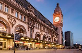 محطة القطار باريس غار دو ليون