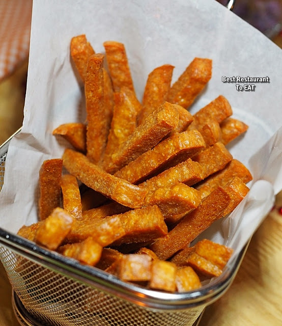 ECO WINE KUCHAI LAMA - Snack Menu - Porky Fries