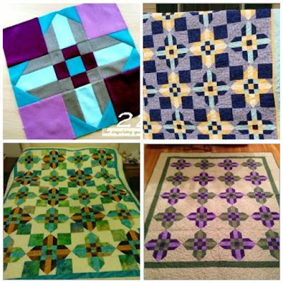 Puppilalla, modern quilting, Blog Hop, Sirrus Solids, cloud 9 fabrics, Berry Cross Quilt Block, The Inquiring Quilter