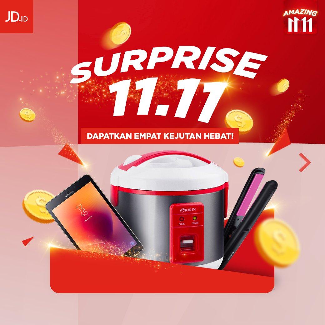 JDID - Promo Amazing Surprize 11.11 (11 Nov 2018)