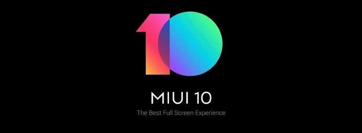 Download dan Install MIUI 10 Global Beta ROM 8.8.23