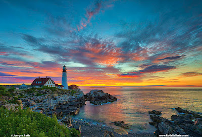 Portland Head Light photography images