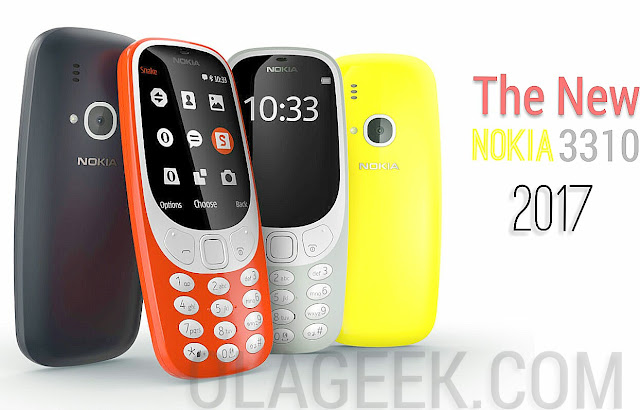 The new Nokia 3310 2017