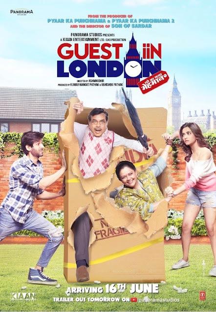Guest Iin London (2017) Hindi Movie DVDScr Download