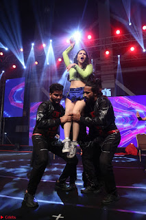 Sunny Leone Dancing on stage At Rogue Movie Audio Music Launch ~  148.JPG