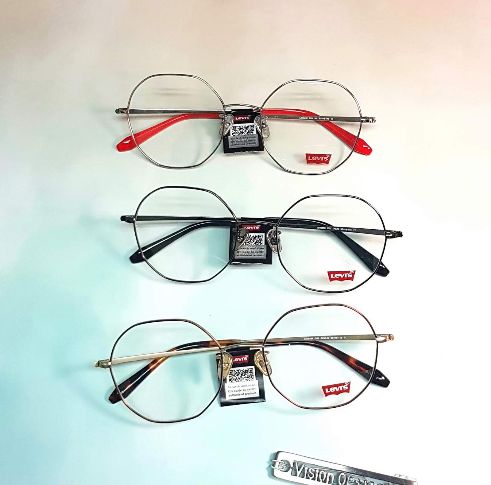 精明眼鏡公司: LEVIS eyewear 2019 眼鏡經典的鏡款