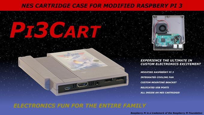 Raspberry Pi personalizado em cartucho de NES