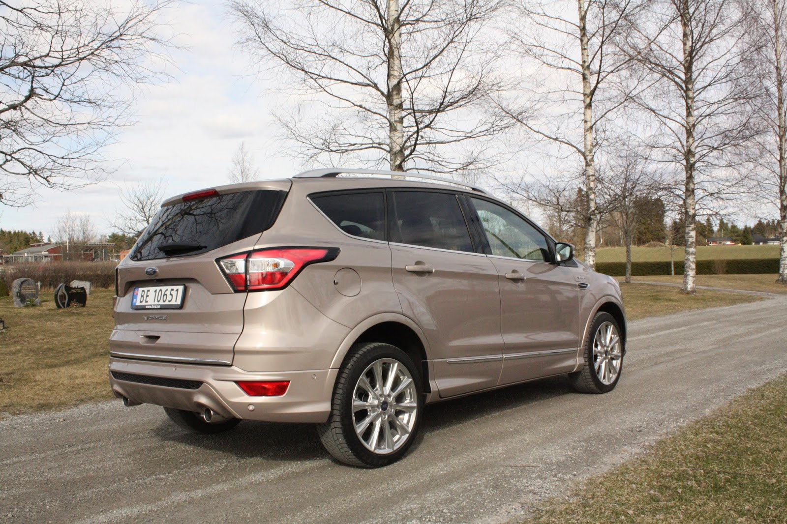 test ford kuga vignale 2 0 tdci 180 awd aut bil og motorbloggen. Black Bedroom Furniture Sets. Home Design Ideas