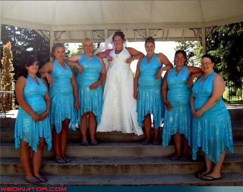 Mighty Lists: 10 Hideous Bridesmaid Dresses