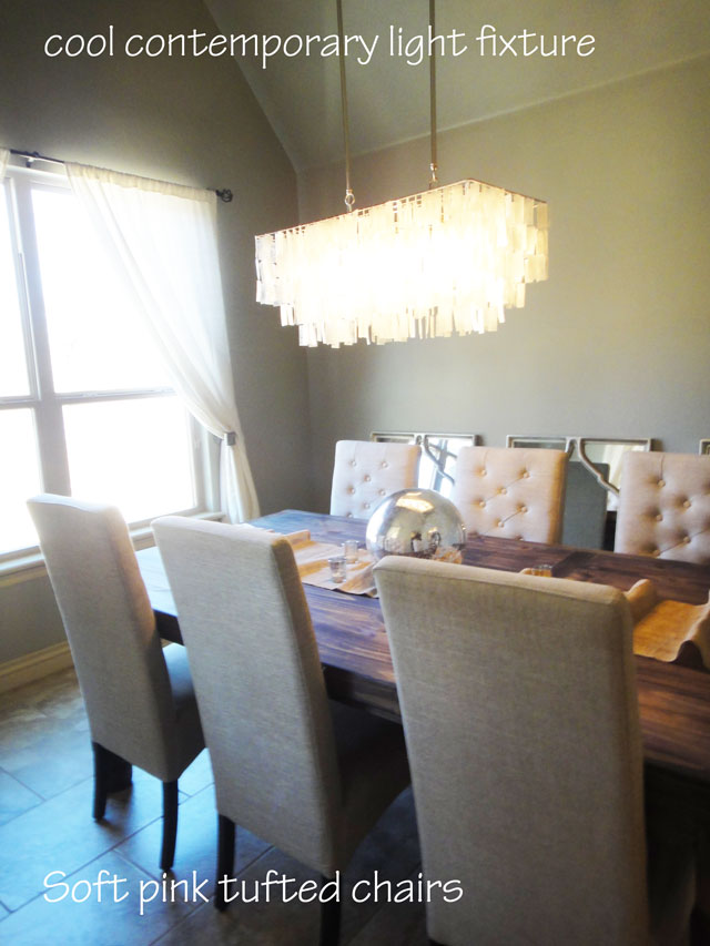 The Peak Of Tr 232 S Chic Rustic Glam Dining Room