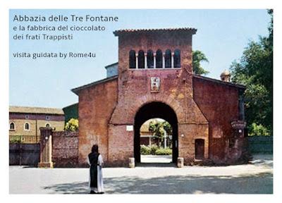 L'Abbazia delle Tre Fontane e la fabbrica di cioccolato dei frati Trappisti - Visita guidata Roma