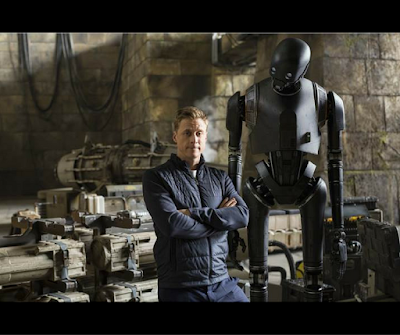 Alan Tudyk is K-2SO in Rogue ONE A Star Wars Story