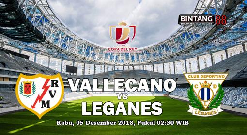 Prediksi Rayo Vallecano vs Leganes 05 Desember 2018