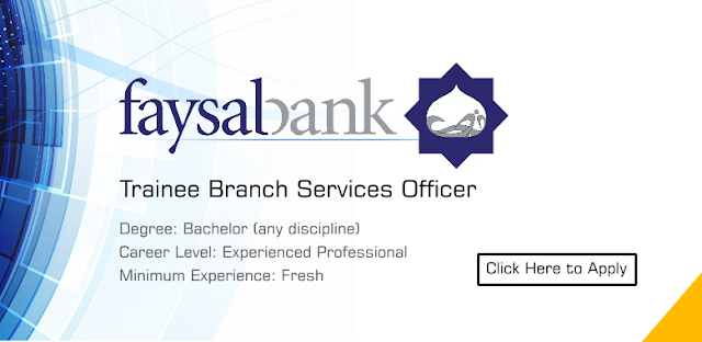 Faisal Bank Jobs 2019 Online Apply