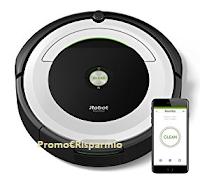 Logo Vinci gratis 10 iRobot Roomba serie 691