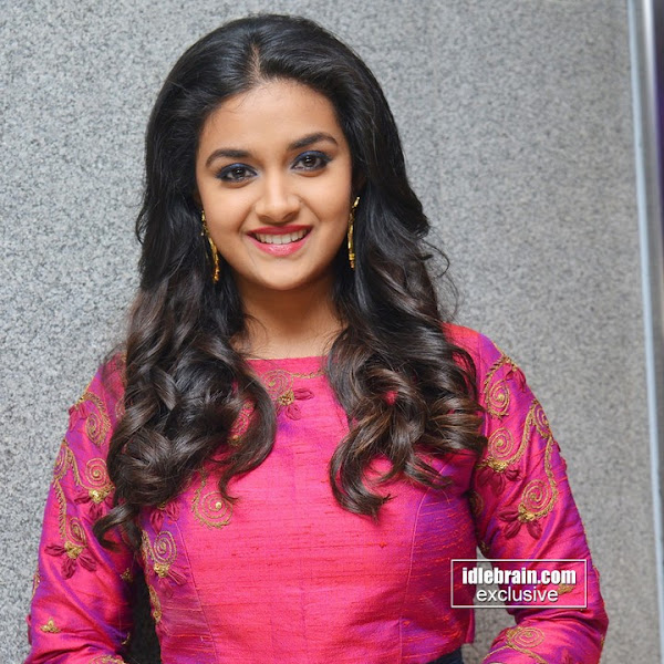 Keerthi Suresh latest photos from Remo movie success meet