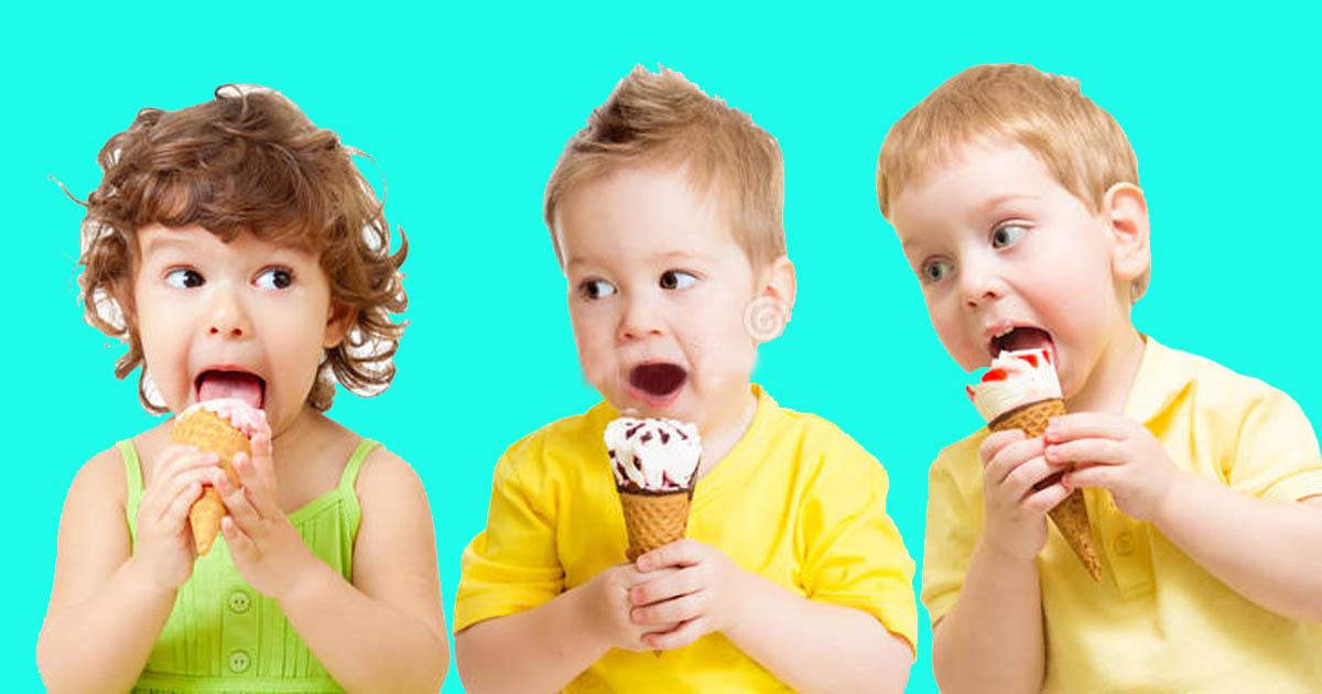 Bé mấy tuổi được ăn kem và cho con ăn như thế nào?