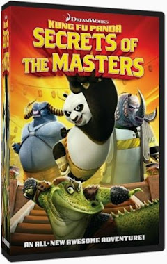 Kung Fu Panda Secrets of the Masters DVDR NTSC Español Latino