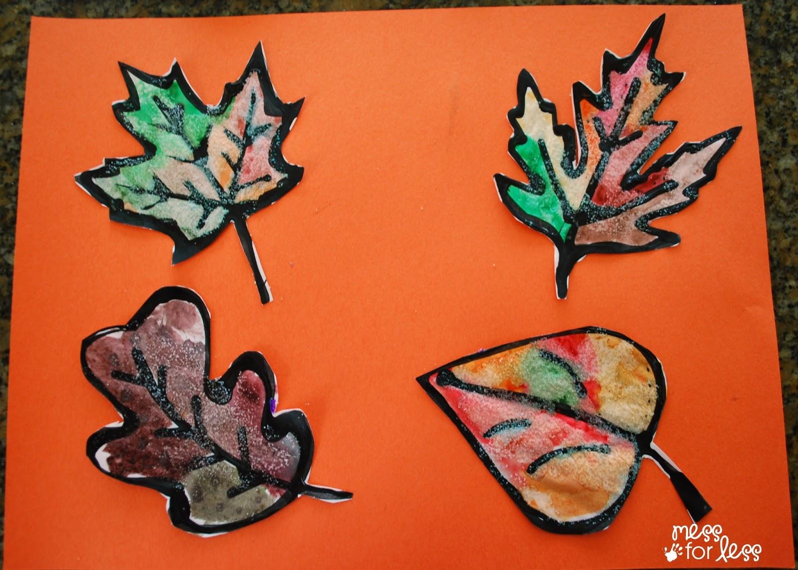 Black Glue And Salt Leaves