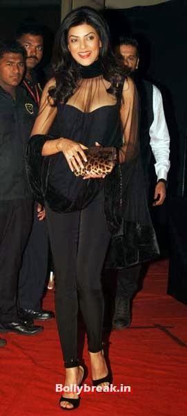 Sushmita Sen, Which Bollywood Actress Wear the Worst Outfit in Year 2013?