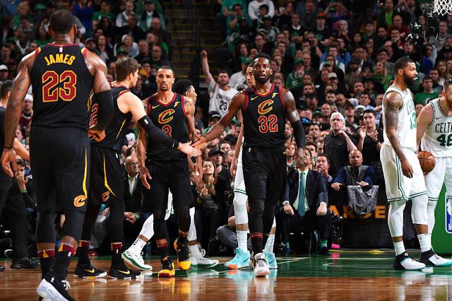 Green aide LeBron a amené les Cavs en Finale NBA