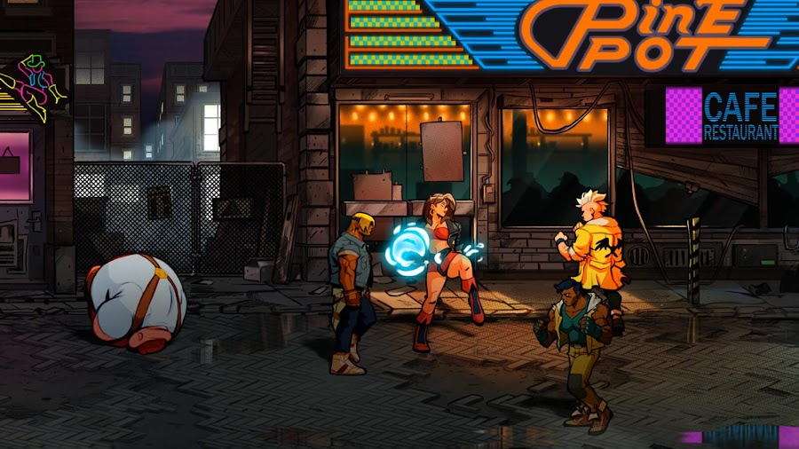 streets of rage 4 screenshots axel stone blaze fielding lizardcube