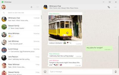 Whatsapp Desktop App Screenshot